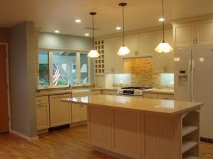 kitchen lighting by Jennifer Carole