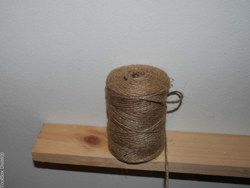 string it up with Jute