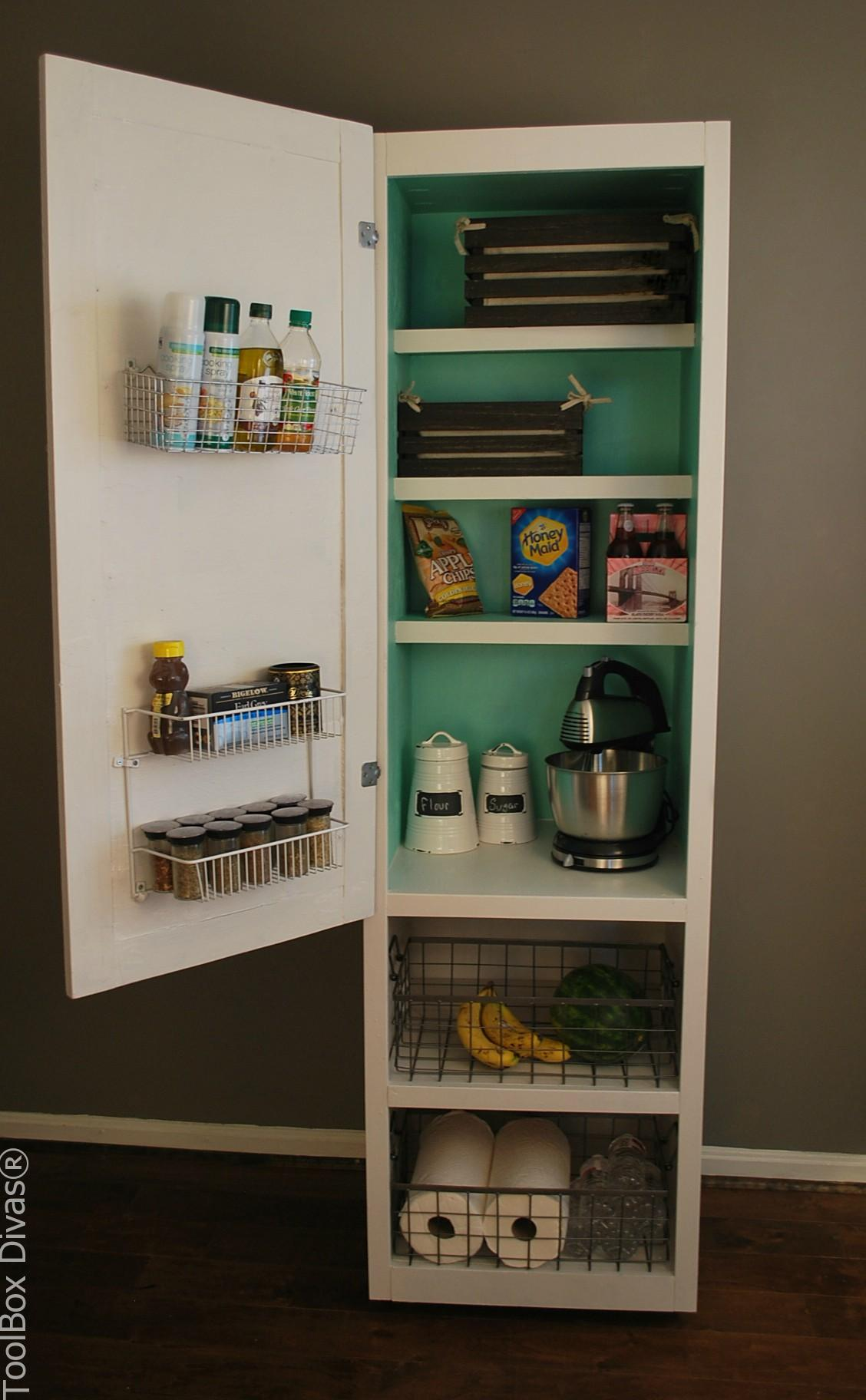 Diy Mobile Pantry Cabinet Toolbox Divas
