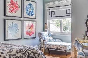 Dallas girls bedroom by Emily Johnston Larkin of EJ Interiors.