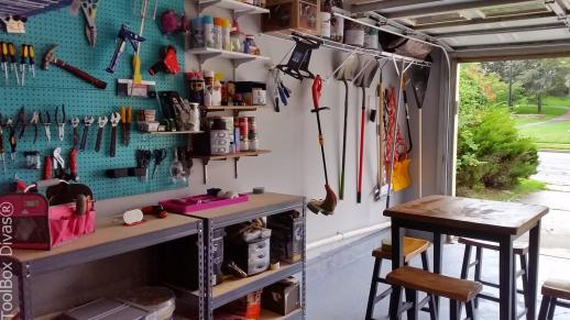 Create a DIY Garage Workshop