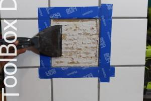 How to repair a broken tile ToolBox Divas