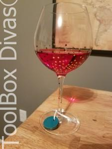 DIY Wooden Wine Glass Charm - ToolBox Divas