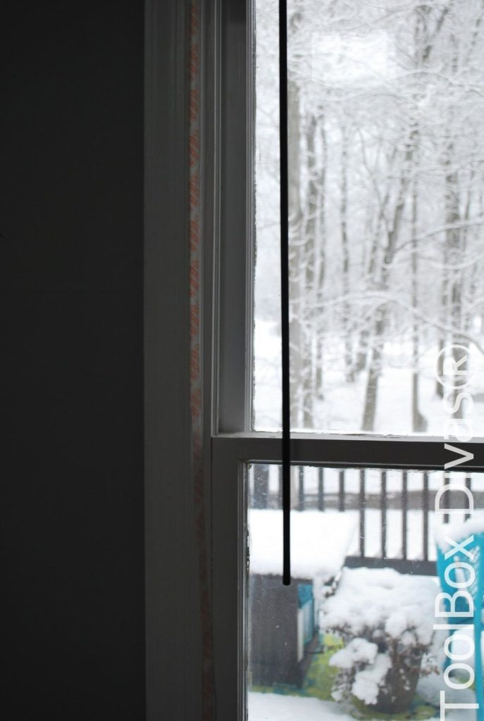 Weatherizing Your Windows, Cheap and Easy Solutions - ToolBox Divas