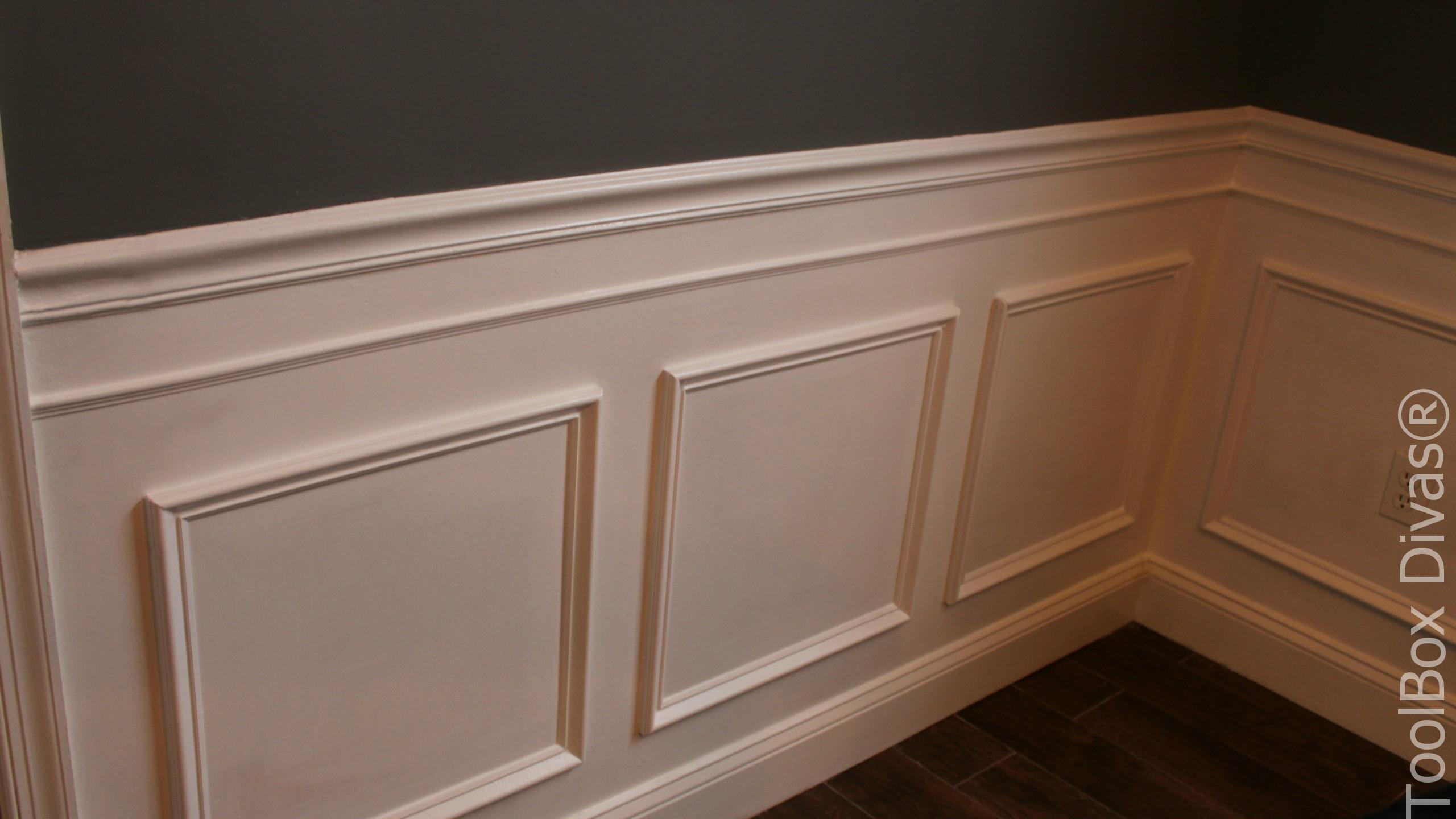 How To Install Picture Frame Moulding Wainscoting Toolbox