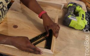 Making a serving Tray with Toolbox Divas