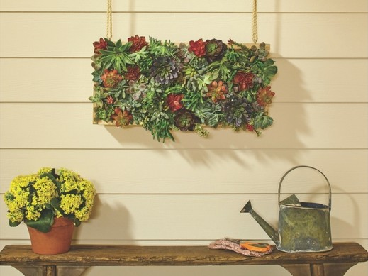 The Home Depot DIH Workshops: Vertical Succulent Garden virtual party