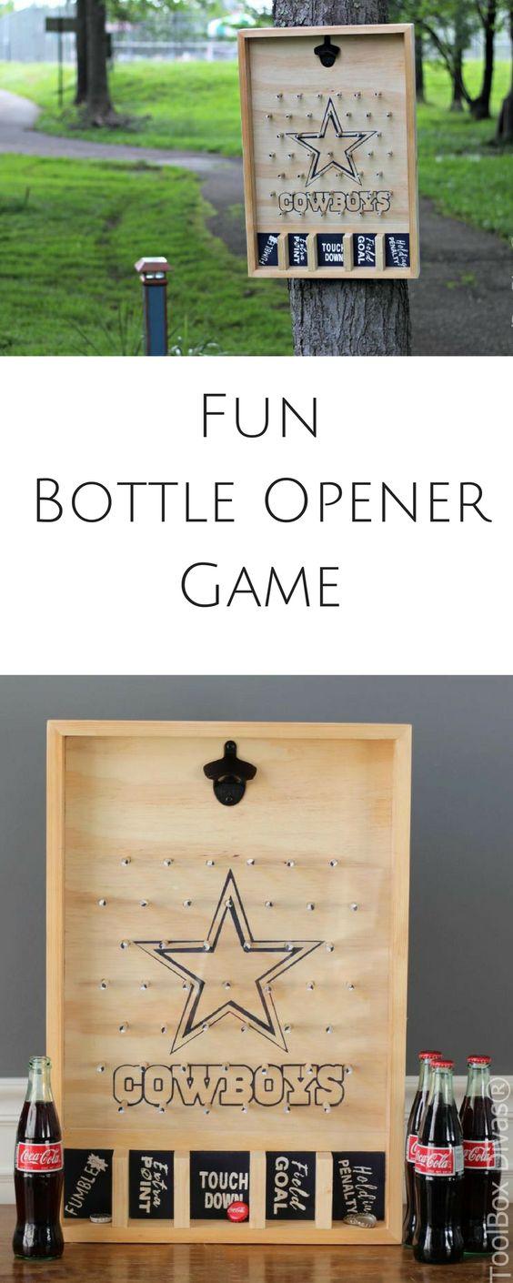 fun diy bottle opener game toolbox divas. Black Bedroom Furniture Sets. Home Design Ideas