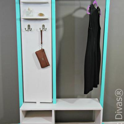 Stylish DIY Clothes Rack