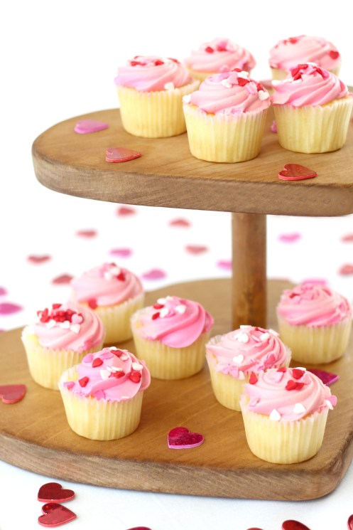 Two tier Cupcake Stand or tower by Toolbox Divas