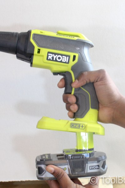 Review of the Ryobi 18-Volt ONE+ Brushless Drywall Screw Gun