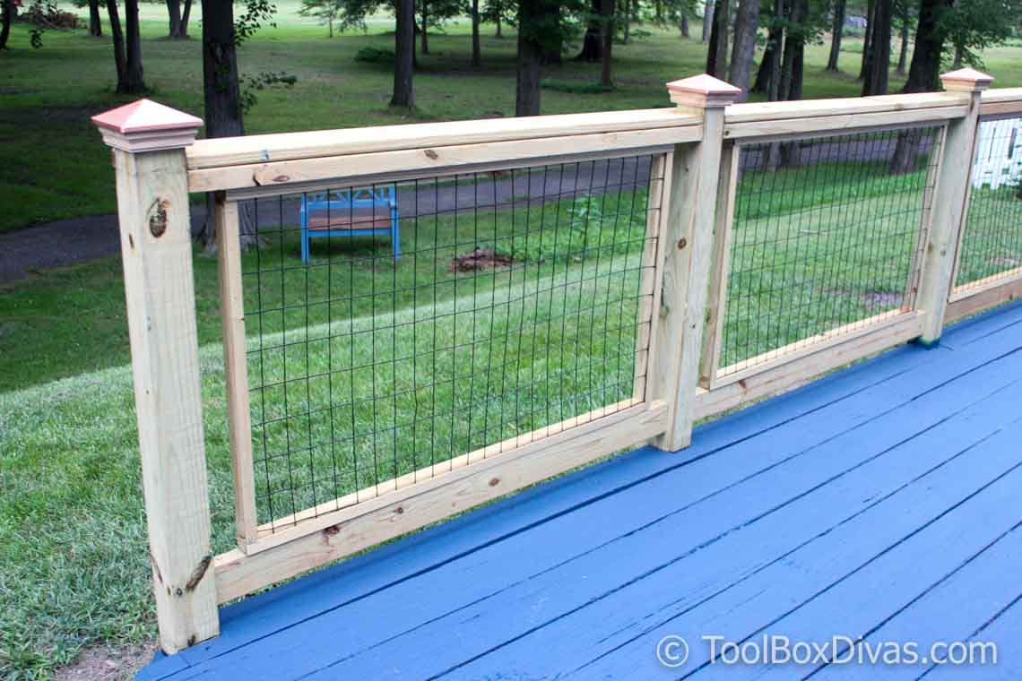 Do It Yourself Home Design: How To Easily Build And Install Deck Railing
