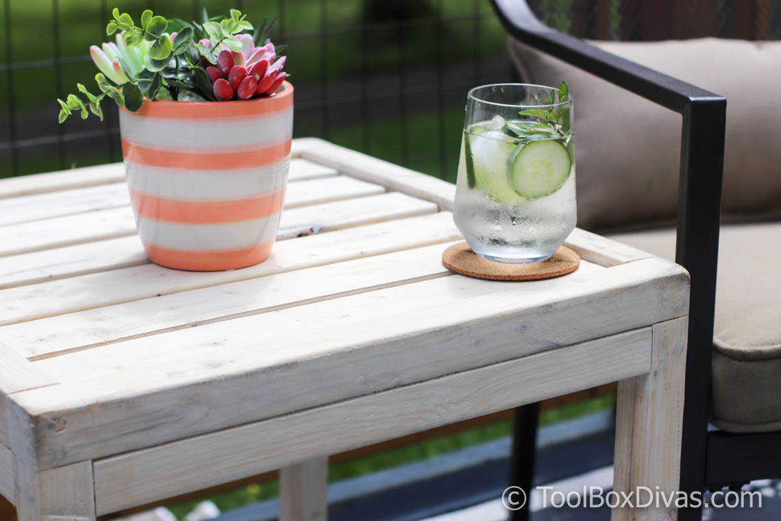 How To Make Outdoor Coffee Table