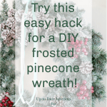 Diy Frosted Winter Wreath Toolbox Divas