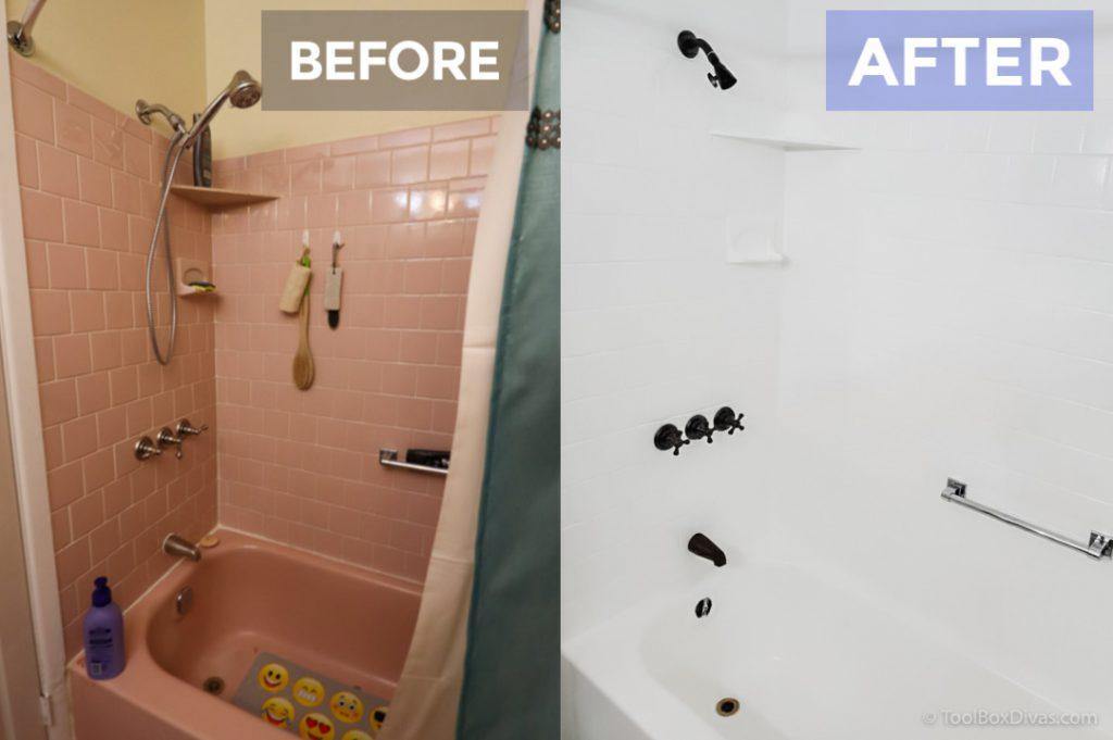 paint your bathtub and tile