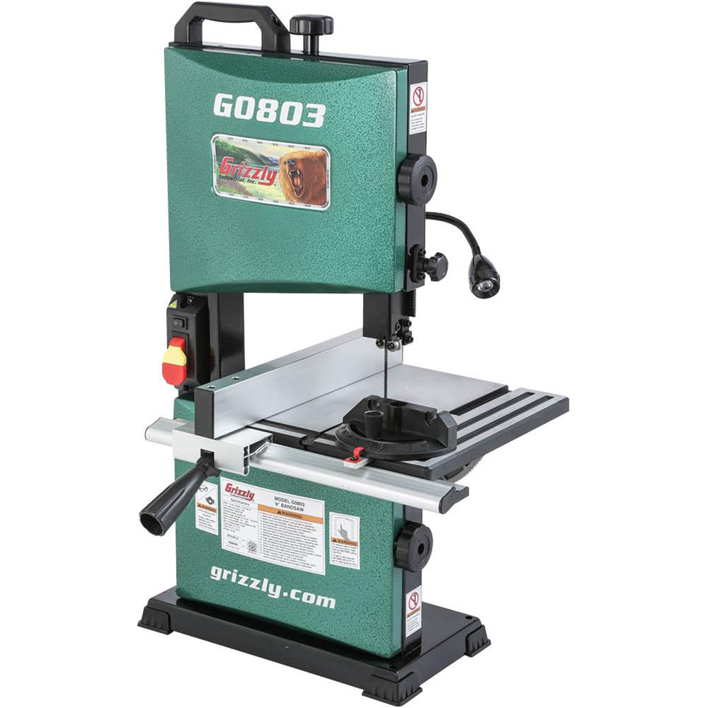 New Grizzly G0803 9 Inch Bandsaw Tool Craze
