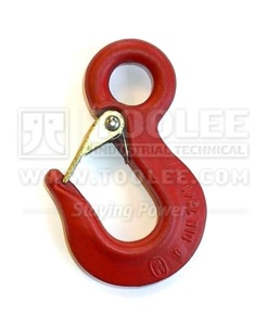 300 1225 Sling Hook Eye Type with Safety Latch Germany Type DIN7541 G80