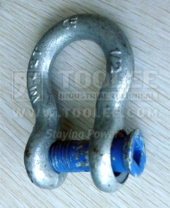 300 1127 Trawling Bow Shackle Square Sunken Hole