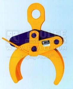 300 9220 YG Type Round Stock Grabs Lifting Clamp Drawing