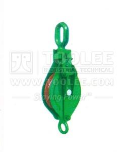 300 2801 21 Open Block Single Sleeve With Eye Splice Type Drawing