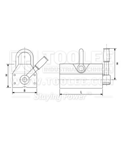 300 9302 Permanent Magnetic Lifting YC Drawing