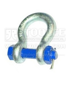300 1113 Bow Shackle With Safety Pin  Nut Grade S AS2741 6 1