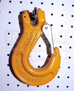 300 1224 Sling Hook Clevis Type with Safety Latch European Type G80