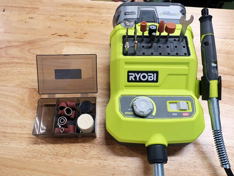 Ryobi Cordless Rotary Tool Review - First Look