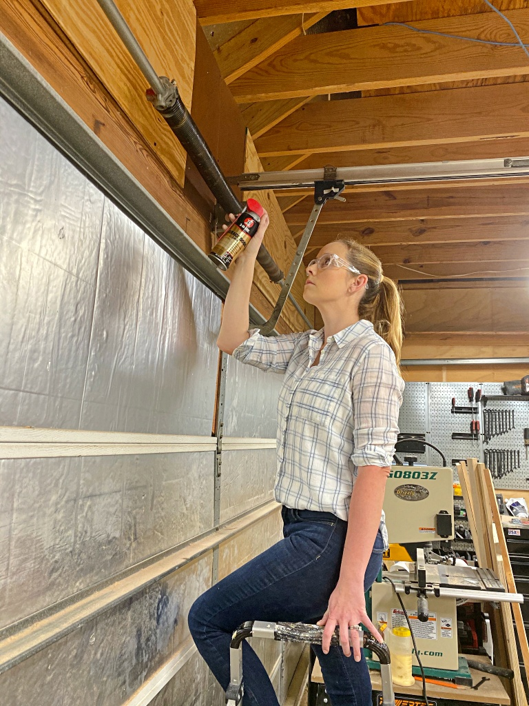 Garage Door Maintenance with 3-IN-ONE® Brand