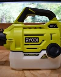 Ryobi Cordless Fogger Review
