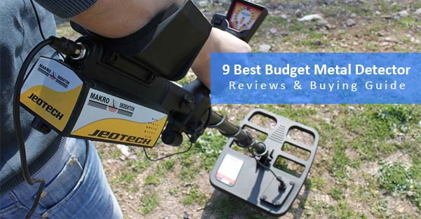 best budget metal detector - featured image