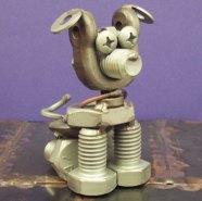 Brown Dog Welding Pup
