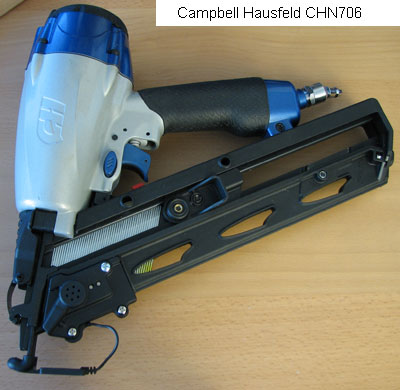 Campbell Hausfeld Finish Nailer