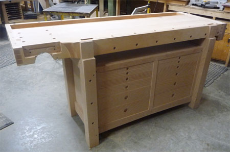 Amazing Woodworking Workbench Masterpiece