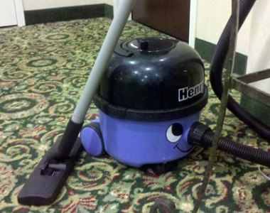 Henry Vacuum Spotted in the Wild