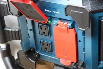 Bosch Power Box 360 Power Outlets