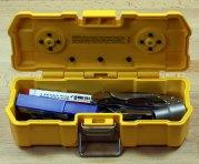 Dewalt Magnetic ToughCase Filled with Test Load