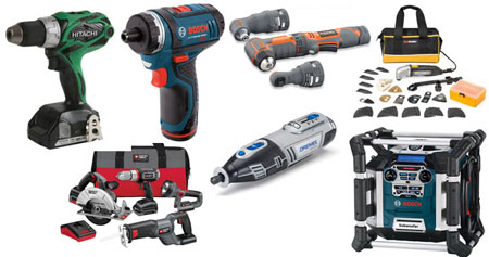ToolGuyd Father's Day Gift Guide Power Tool Montage