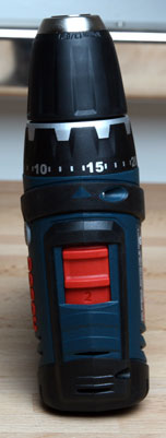 Bosch PS31 Cordless Drill Speed Selector and Clutch Settings