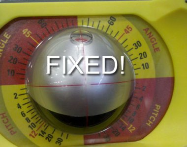 C.H. Hanson Precision Ball Level Crosshair Design Remedied