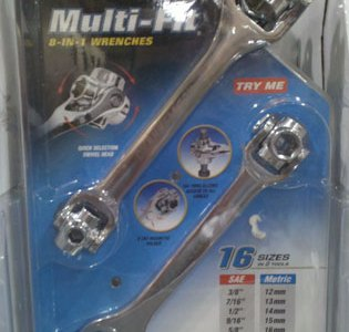 Channellock Multi-Fit Dog Bone Wrenches