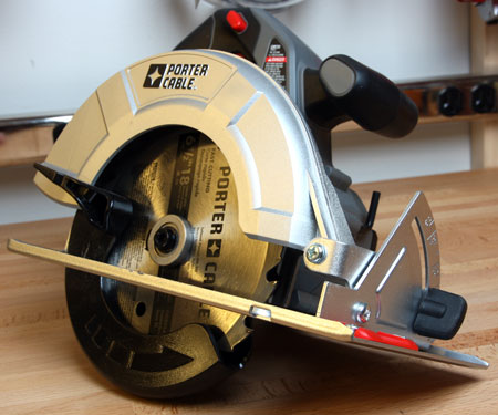 Porter Cable Cordless 18V Circular Saw Side View