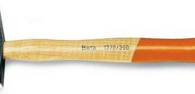 Beta Two-Faced Hickory Handle Engineers Hammer