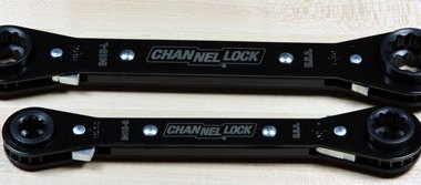 Channellock 4 in 1 Ratcheting Wrenches Front View