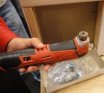 Milwaukee M12 Cordless Oscillating Multi-Tool Without Attachment