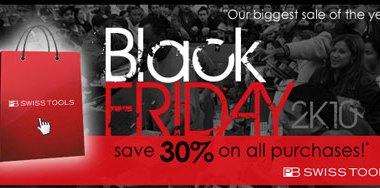 Count on Tools PB Swiss Tools Black Friday Sale 2010