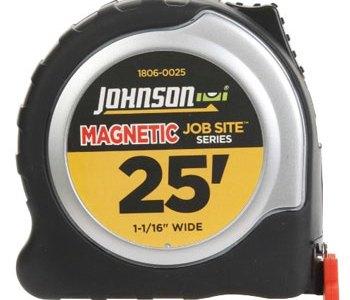 Johnson Magnetic Tip Tape Measure