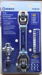 Kobalt Multi Drive Wrench Packaging