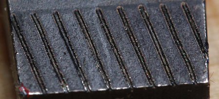 Wera Kraftform 300 Series Plus Anti-Cam-Out Slotted Screwdriver Tip Closeup