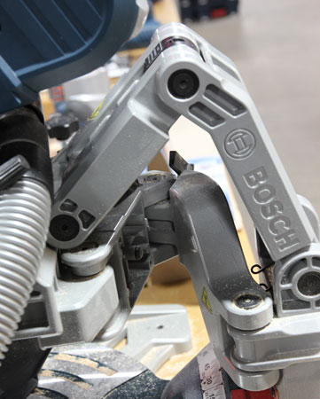 Bosch Axial Glide Miter Saw GCM12SD Retracted Position